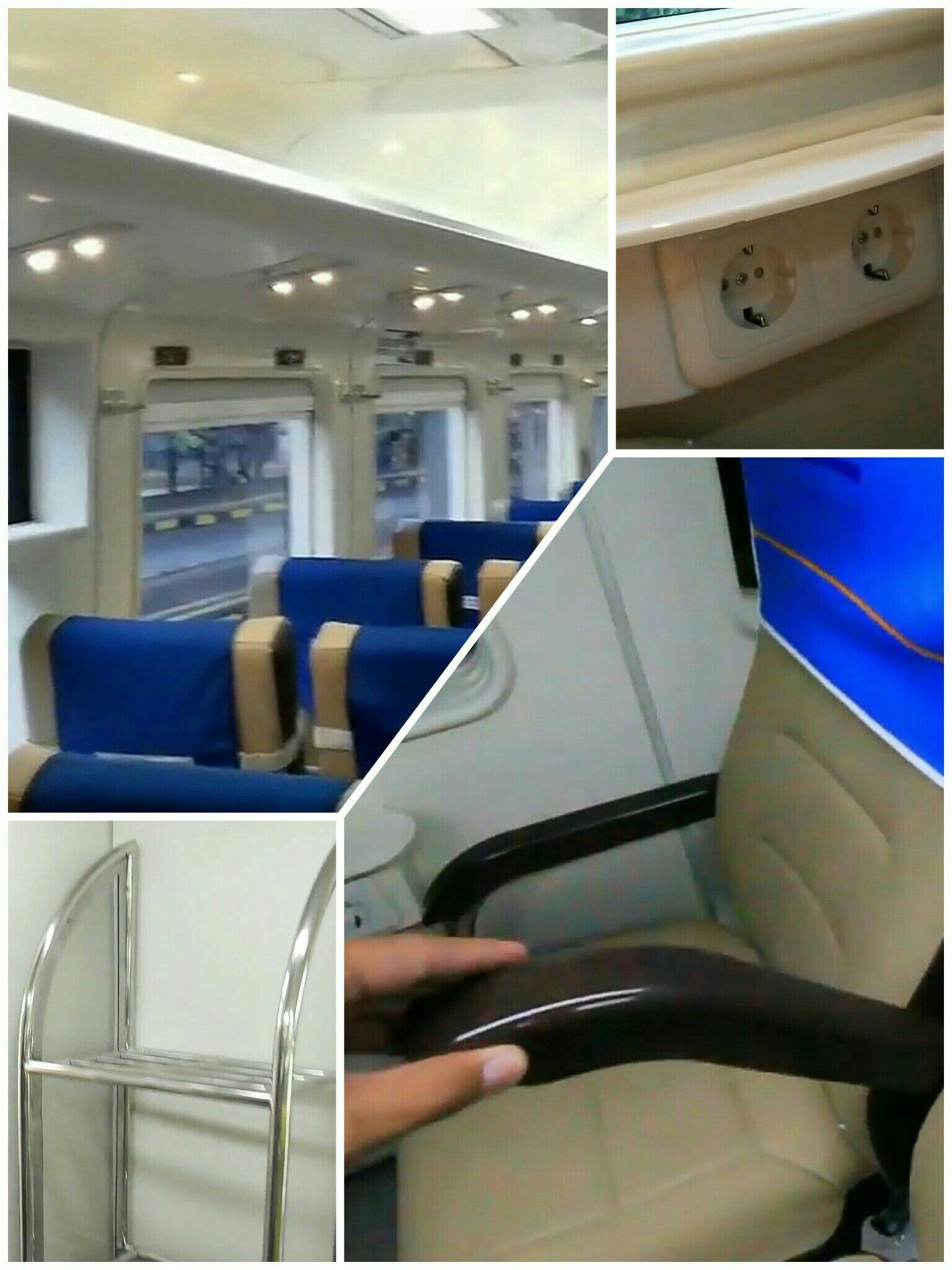 armrest yang dapat di lipat tv dan bagi para penumpang yang membawa koper besar dapat menaruh kopernya di belakang kursi nomor 18 karena dibelakang