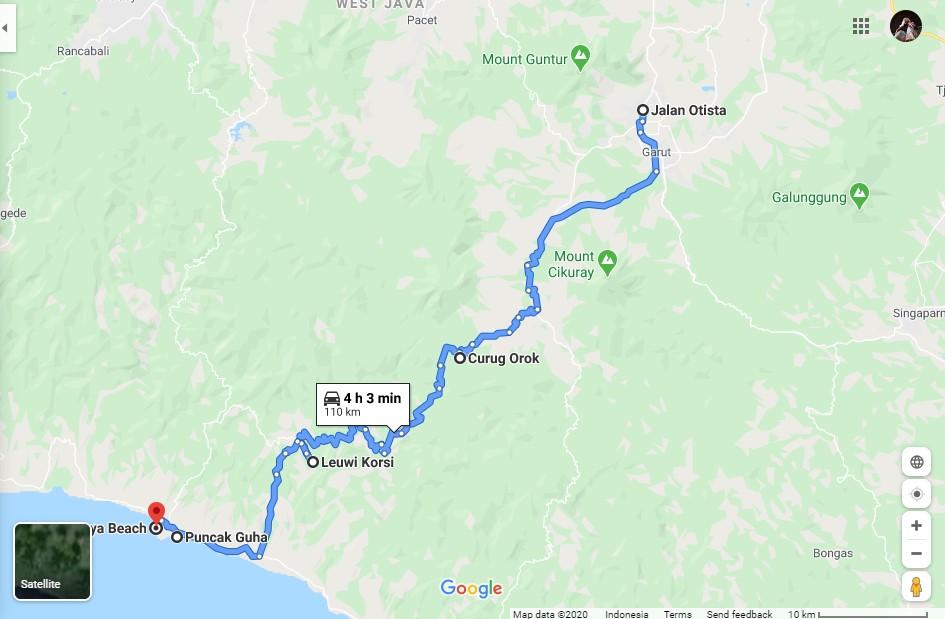 Roadtrip Garut - curug orok - leuwi korsi - puncak guha - rancabuaya